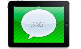 Программы для приёма равно отправки SMS сообщений сверху iPad