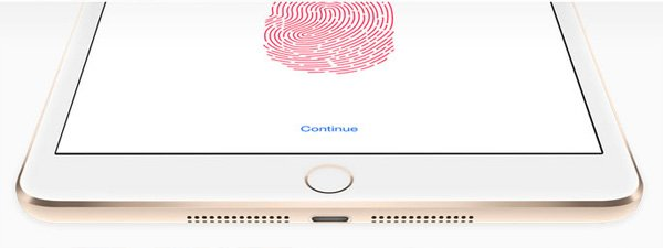 iPad mini touch id