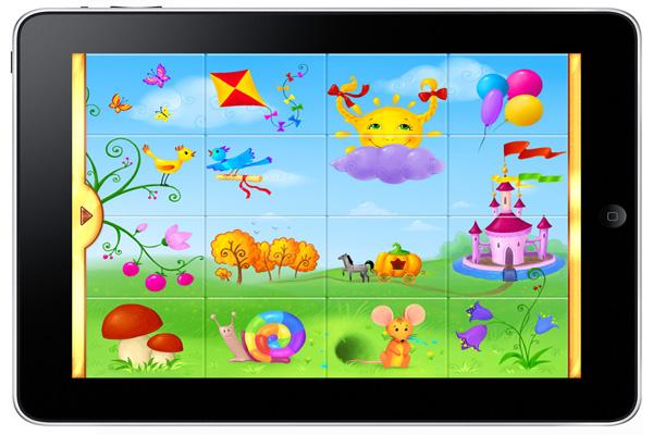 Развивающие игры для детей на планшет