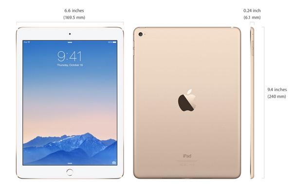 дизайн iPad Air 2