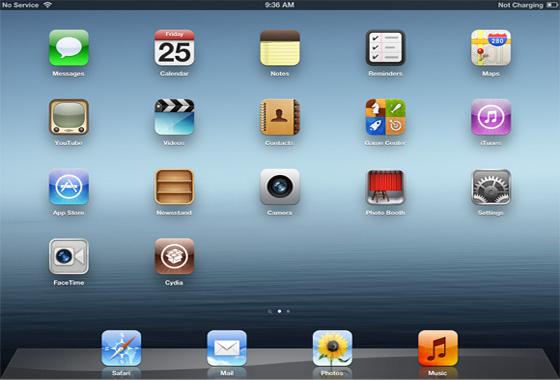 интерфейс iOS 5