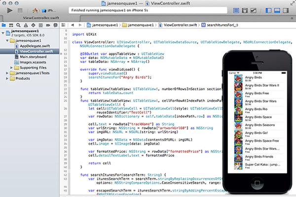 приложения на Xcode