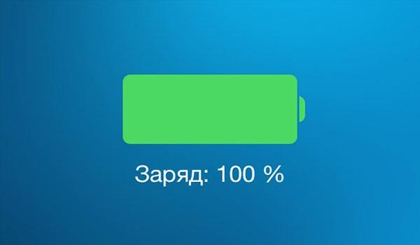 скорость зарядки айпад