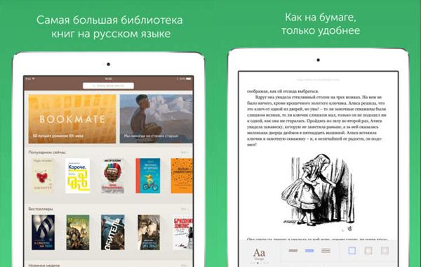 Bookmate для iPad