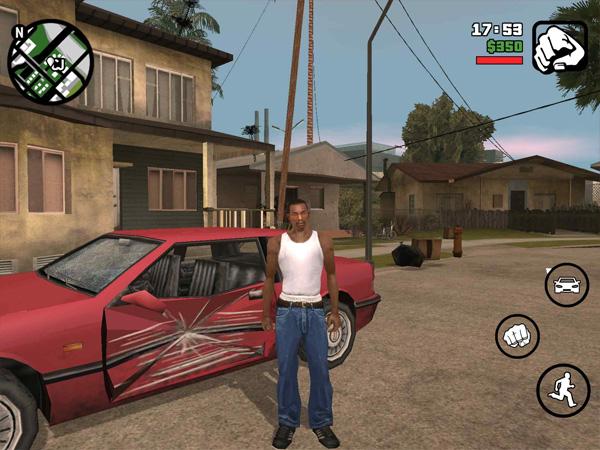 GTA San Andreas на iOS скрин1