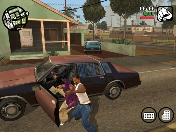 GTA San Andreas на iOS скрин2