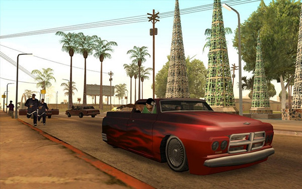 GTA San Andreas на iOS скрин3
