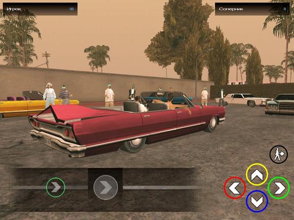 GTA San Andreas на iOS скрин5