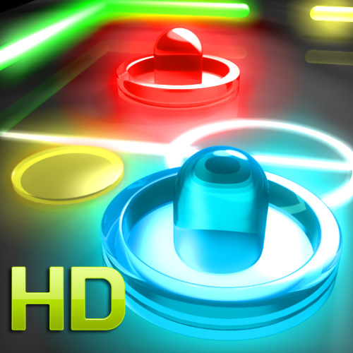 Glow Hockey 2 HD для iPad