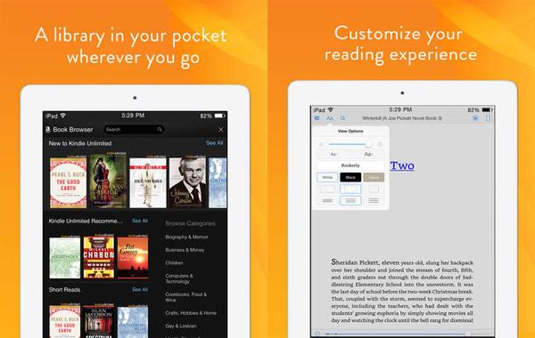Kindle для iPad
