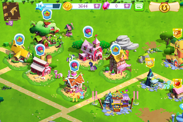 MY LITTLE PONY для iPad