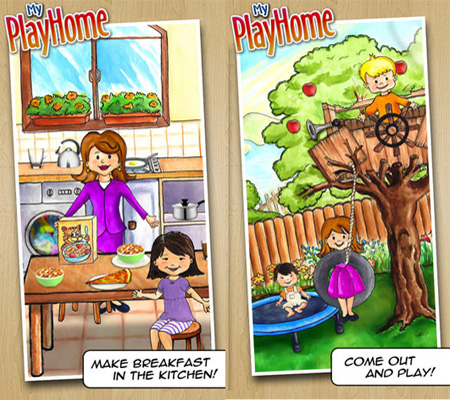 My PlayHome для iPad