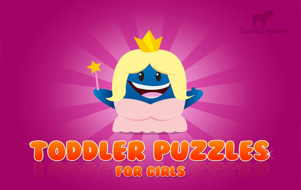 Toddle Puzzles! For girls для айпада