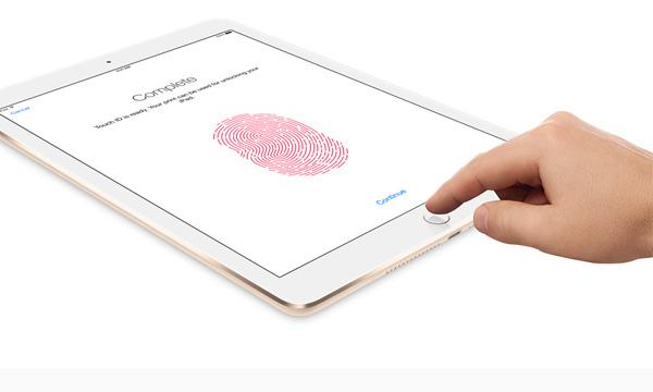 Touch ID на iPad Air 2