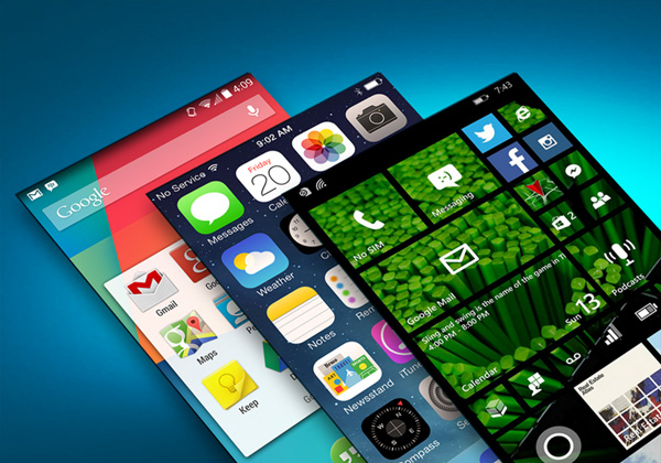 Android, iOS и Windows