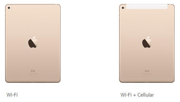 модификации iPad Air 2