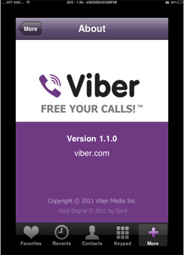 viber для iOS