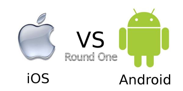 Андроид против iOS раунд 1