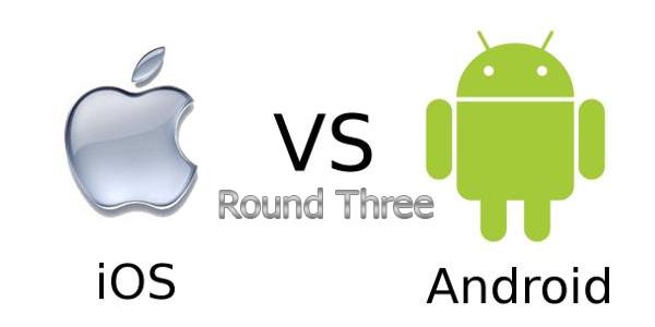 Андроид против iOS раунд 3