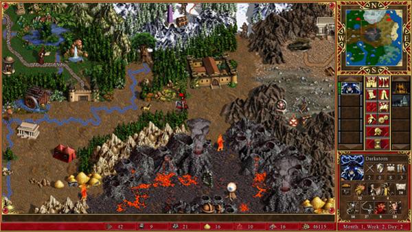 Герои Меча и Магии III геймплей
