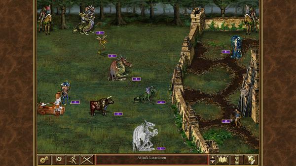Герои Меча и Магии III — пошаговая стратегия