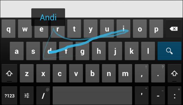 Система Swype андроид