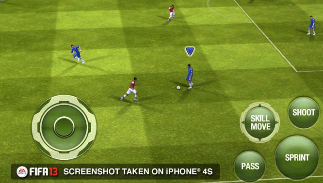 Fifa 13 на ios геймплей