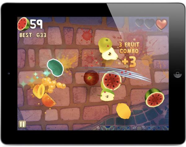 Fruit Ninja для ios