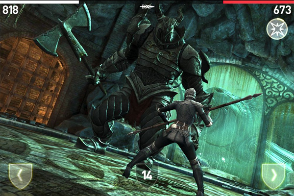 Infinity Blade III — геймплей