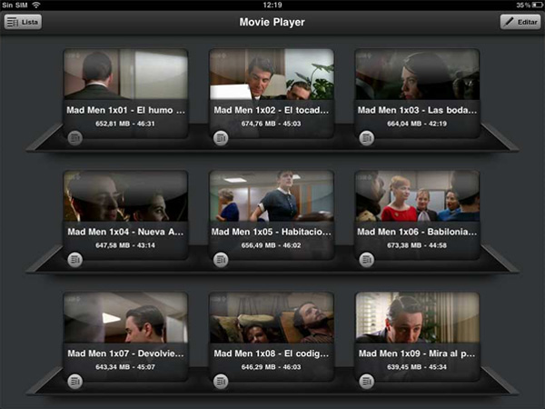 Movie Player для ipad