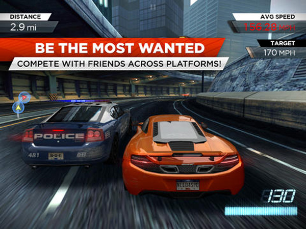 Need for Speed Most Wanted, геймплей