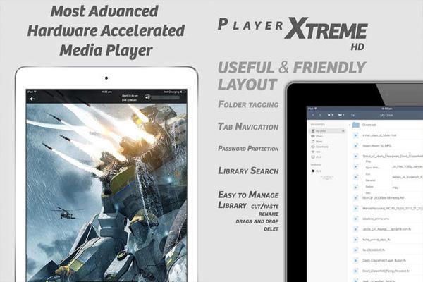 PlayerXtreme для айпад