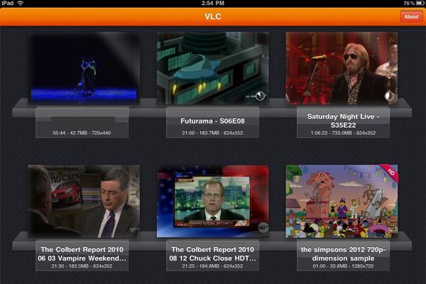 VLC для iPad