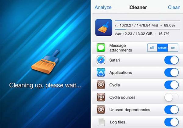 iCleaner Pro cyida ios