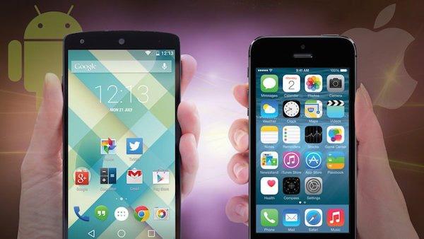 Дизайн и интерфейс iOS и Android