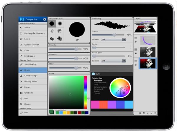 особенности Photoshop для iOS
