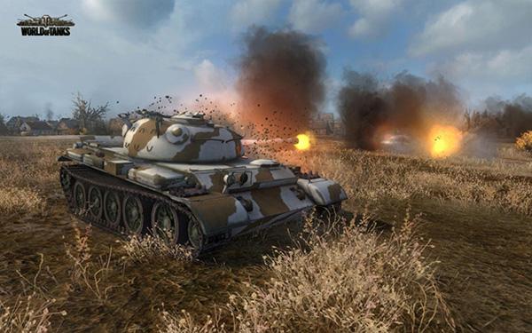 танки для айпад