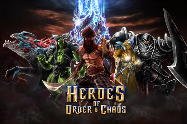 Heroes of Order and Chaos для айпад