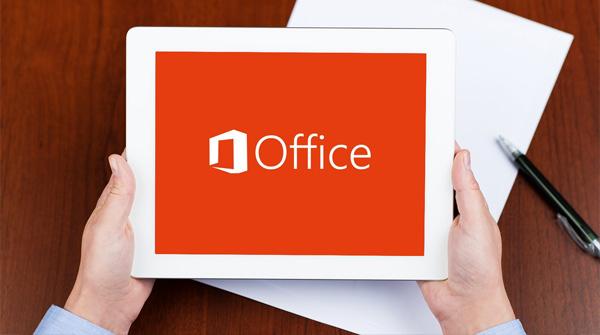 Microsoft Office для айпад