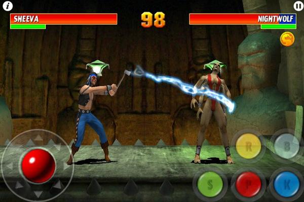 Mortal Kombat на айпад, геймплей