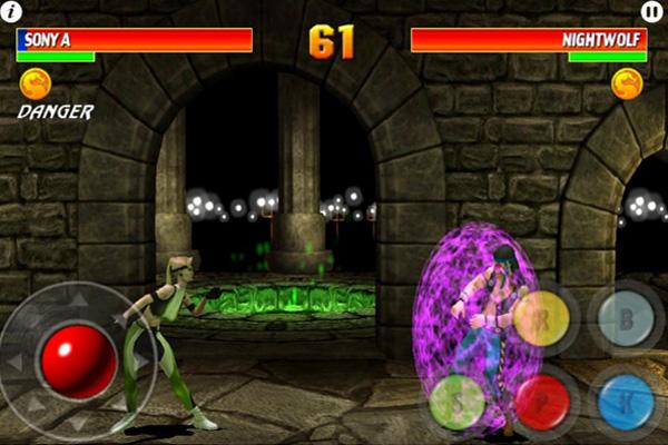Mortal Kombat на айпад