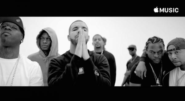 релиз нового клипа Drake