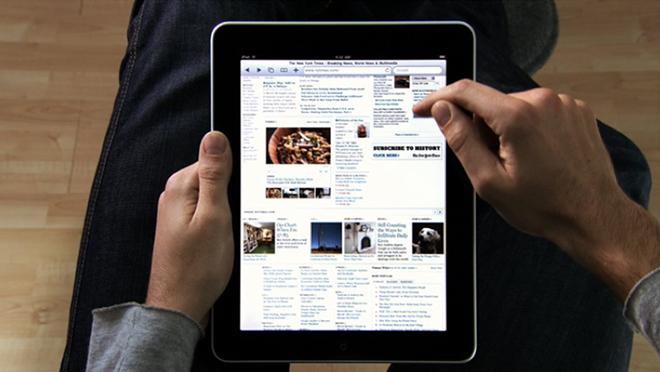 очередной отчет о снижении продаж iPad