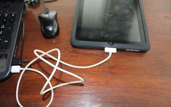 Зарядка iPad от компьютера