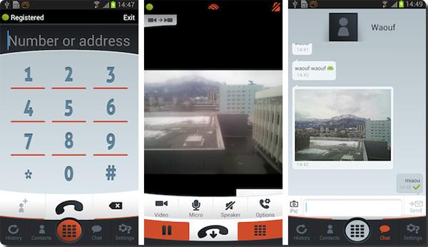 LinPhone для iPhone