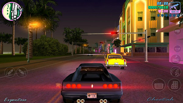 Гонки в GTA Vice City для iPhone