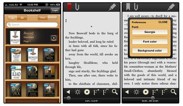 DJVU BOOK READER для iPad