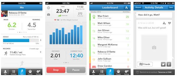 RunKeeper для iPhone