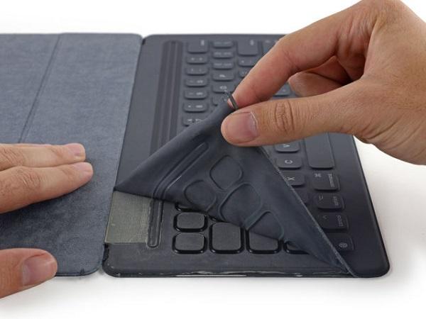 Клавиатуру Smart Keyboard для iPad Pro нельзя отремонтировать