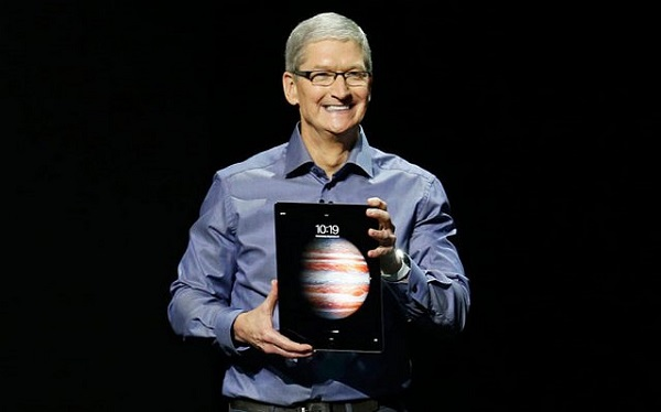 Тим Кук iPad Pro заменит ноутбуки и ПК